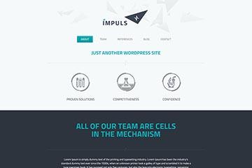 大气商业web设计公司bootstrap企业模板