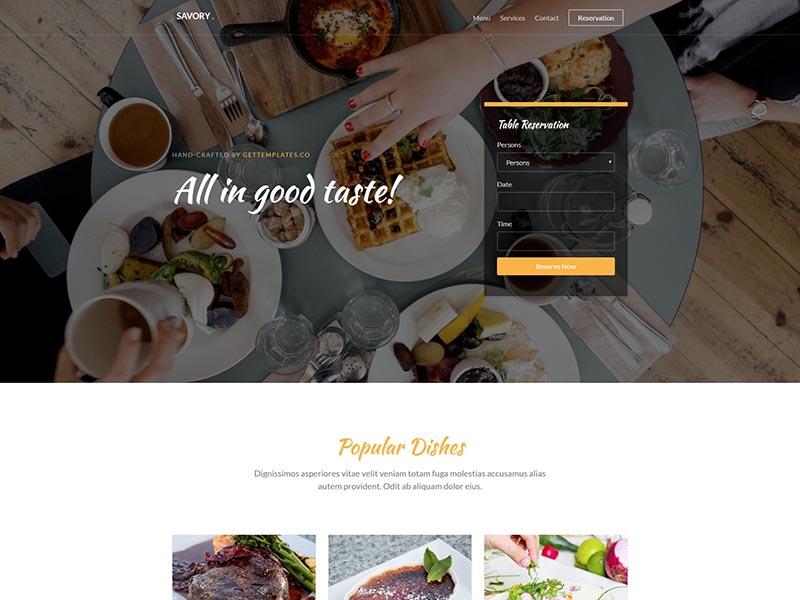 在线订餐外卖平台响应式html5模板-上海网站建设|网站建设专家|免费素材下载-综讯科技